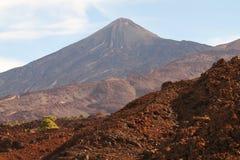ηφαίστειο teide EL στοκ φωτογραφία με δικαίωμα ελεύθερης χρήσης