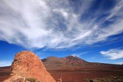 ηφαίστειο teide EL στοκ εικόνα