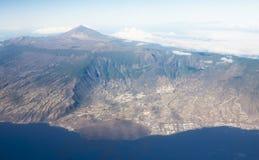 ηφαίστειο teide EL Στοκ φωτογραφίες με δικαίωμα ελεύθερης χρήσης
