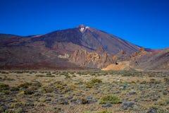 Ηφαίστειο Teide, Tenerife νησί, Ισπανία στοκ εικόνα