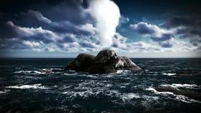 Ηφαιστειακή έκρηξη στο νησί φιλμ μικρού μήκους