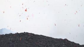 Ηφαιστειακή έκρηξη απόθεμα βίντεο