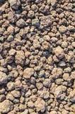 Ηφαιστειακή σκουριά στο πόδι ενός ηφαιστείου στοκ φωτογραφίες με δικαίωμα ελεύθερης χρήσης