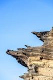 Ηφαιστειακός σχηματισμός πετρών με το μπλε ουρανό στη EL Golfo Στοκ εικόνες με δικαίωμα ελεύθερης χρήσης
