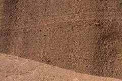Ηφαιστειακός τοίχος τέφρας Στοκ εικόνες με δικαίωμα ελεύθερης χρήσης