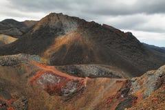 Ηφαιστειακό τοπίο, οροσειρά Negra, Galapagos Στοκ εικόνα με δικαίωμα ελεύθερης χρήσης