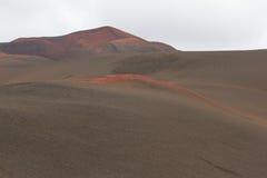 Ηφαιστειακό τοπίο πετρών ερήμων σε Lanzarote, Κανάρια νησιά Στοκ Εικόνα