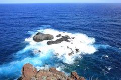 Ηφαιστειακό τοπίο στο νησί Λα Palma, Ισπανία Στοκ φωτογραφία με δικαίωμα ελεύθερης χρήσης