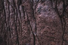 Ηφαιστειακό χρωματισμένο σκουριά στάλαγμα σύστασης στοκ φωτογραφία με δικαίωμα ελεύθερης χρήσης