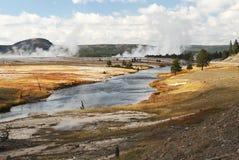 ηφαιστειακό yellowstone του NP τοπί&omega Στοκ φωτογραφία με δικαίωμα ελεύθερης χρήσης