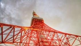 ληφθείς πύργος του Τόκιο του 2011 καλοκαίρι Στοκ Εικόνες