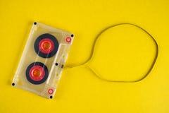 ηχητική κασέτα στοκ φωτογραφία με δικαίωμα ελεύθερης χρήσης