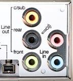 ηχητικοί σύνδεσμοι Στοκ φωτογραφία με δικαίωμα ελεύθερης χρήσης