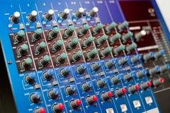 ηχητικός έλεγχος κονσο&la Στοκ Εικόνες