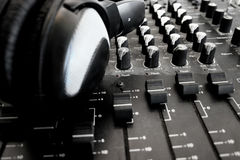 ηχητικός αναμίκτης Στοκ φωτογραφίες με δικαίωμα ελεύθερης χρήσης