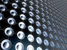 ηχητικός μαύρος άπειρος Στοκ φωτογραφία με δικαίωμα ελεύθερης χρήσης