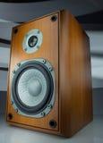 ηχητικός ομιλητής περίπτωσης ξύλινος Στοκ εικόνα με δικαίωμα ελεύθερης χρήσης