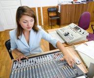 ηχητικός χειριστής ελέγχ&omi στοκ φωτογραφία με δικαίωμα ελεύθερης χρήσης