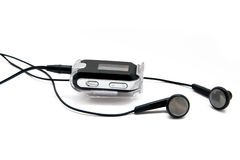 ηχητικός ψηφιακός φορέας ακουστικών Στοκ εικόνες με δικαίωμα ελεύθερης χρήσης
