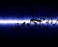 Ηχητικό κύμα Στοκ φωτογραφία με δικαίωμα ελεύθερης χρήσης