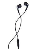 ηχητικό λευκό ακουστικώ&n Στοκ φωτογραφία με δικαίωμα ελεύθερης χρήσης