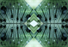ηχητικό πρότυπο faders Στοκ φωτογραφία με δικαίωμα ελεύθερης χρήσης