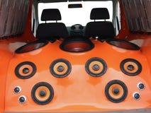 ηχητικό σύστημα αυτοκινήτων Στοκ Εικόνες
