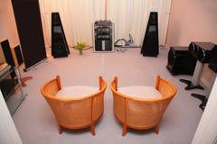ηχητικό σύστημα δωματίων τε& Στοκ φωτογραφίες με δικαίωμα ελεύθερης χρήσης