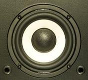 ηχητικό σύστημα εξοπλισμ&omicro στοκ εικόνες