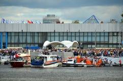 Η άγιος-Πετρούπολη, διεθνής θαλάσσια υπεράσπιση παρουσιάζει 2015 (imds-2015) Στοκ εικόνα με δικαίωμα ελεύθερης χρήσης