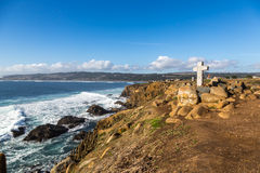 Η άγρια παραλία Pichilemu, Χιλή στοκ φωτογραφίες με δικαίωμα ελεύθερης χρήσης
