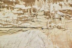 Η άμμος ή το αμμοχάλικο από τον ποταμό στοκ εικόνες με δικαίωμα ελεύθερης χρήσης