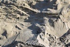 Η άμμος ή το αμμοχάλικο από τον ποταμό στοκ φωτογραφία με δικαίωμα ελεύθερης χρήσης