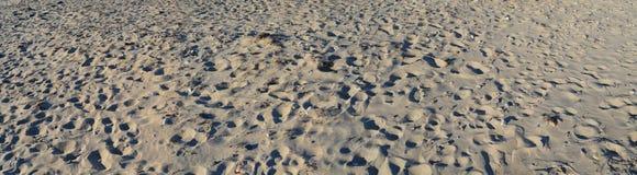 Η άμμος σύρει την παραλία Στοκ Εικόνες