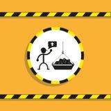 Η άνοδος των μαζικών υλικών διάνυσμα εικονιδίων εργαλείων Στοκ φωτογραφία με δικαίωμα ελεύθερης χρήσης