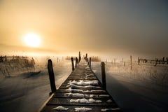 Η άνοδος του ήλιου Στοκ εικόνες με δικαίωμα ελεύθερης χρήσης