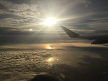 Η άποψη από επάνω υψηλό Στοκ Εικόνες