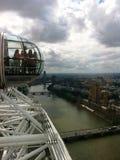 Η άποψη από το μάτι του Λονδίνου Στοκ φωτογραφία με δικαίωμα ελεύθερης χρήσης