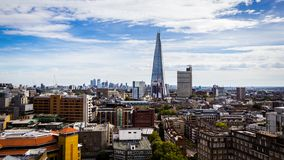 Η άποψη από το 10ο πάτωμα του Tate Modern στοκ φωτογραφία