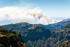 Η άποψη από το pico κάνει Arieiro στο πορτογαλικό νησί Madeir Στοκ φωτογραφίες με δικαίωμα ελεύθερης χρήσης