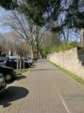 Η άποψη γωνιών στην πόλη Γερμανία του Recklinghausen στοκ φωτογραφία με δικαίωμα ελεύθερης χρήσης