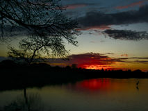 Η άποψη λιμνών Στοκ φωτογραφίες με δικαίωμα ελεύθερης χρήσης