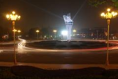 Η άποψη νύχτας του Ναντζίνγκ Στοκ εικόνες με δικαίωμα ελεύθερης χρήσης