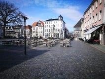 Η άποψη πρωινού της πόλης του Βερολίνου Στοκ εικόνα με δικαίωμα ελεύθερης χρήσης
