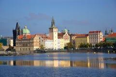Η άποψη σε Karlovy lazne στην Πράγα Στοκ εικόνες με δικαίωμα ελεύθερης χρήσης