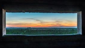 Η άποψη στο τέλος μιας ημέρας Στοκ Φωτογραφίες