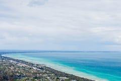 Η άποψη της Αυστραλίας επάνω στο πάρκο καθισμάτων Arthurs Στοκ Εικόνα