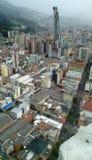 Η άποψη της πόλης Bogotà ¡ Στοκ Εικόνα