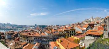 Η άποψη της πόλης του Πόρτο τη θερινή ημέρα Στοκ Φωτογραφίες