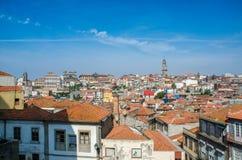 Η άποψη της πόλης του Πόρτο τη θερινή ημέρα Στοκ Εικόνες